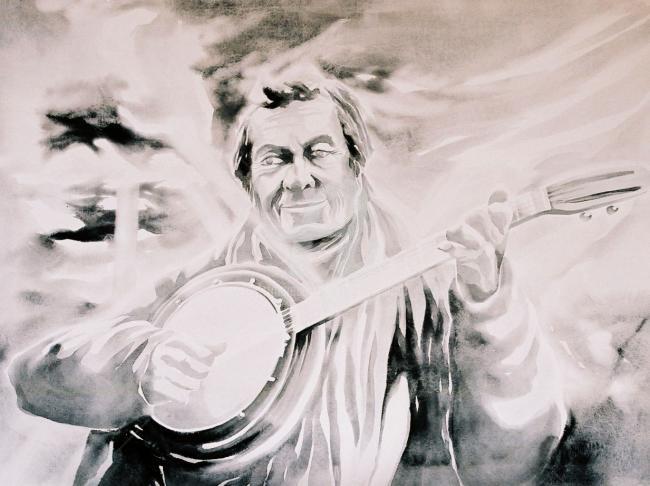 bidard - le joueur de banjo