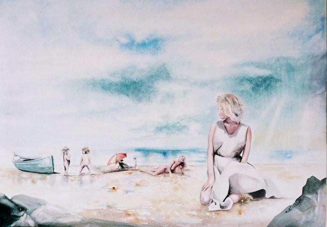 Bidard - la robe blanche