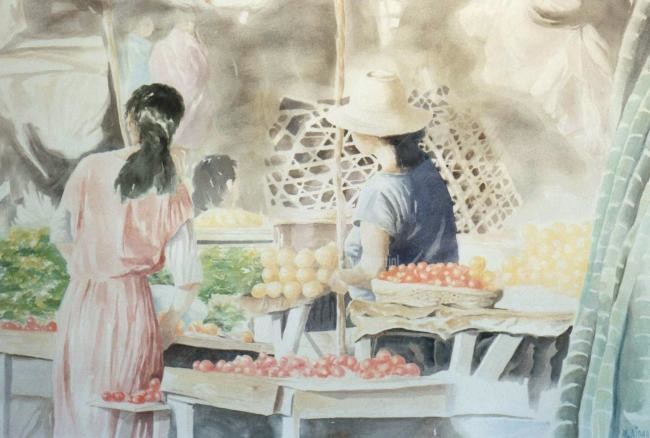 bidard - marché de Tuléar